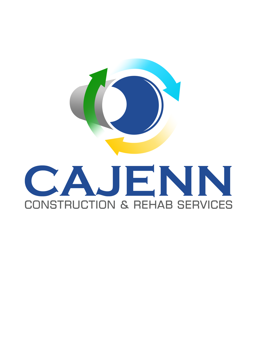 Logo Design by Private User - Entry No. 224 in the Logo Design Contest New Logo Design for CaJenn Construction & Rehab Services.