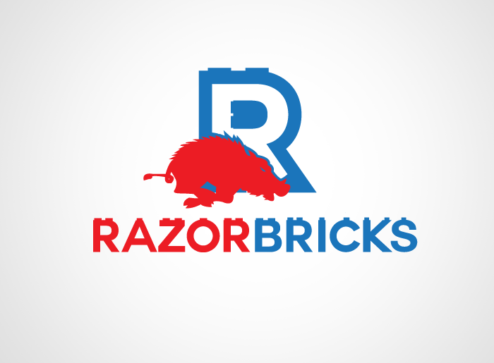 Logo Design by Jan Chua - Entry No. 11 in the Logo Design Contest Unique Logo Design Wanted for razorbricks.com.