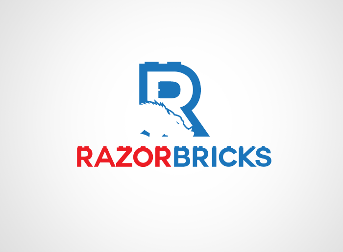 Logo Design by Jan Chua - Entry No. 12 in the Logo Design Contest Unique Logo Design Wanted for razorbricks.com.