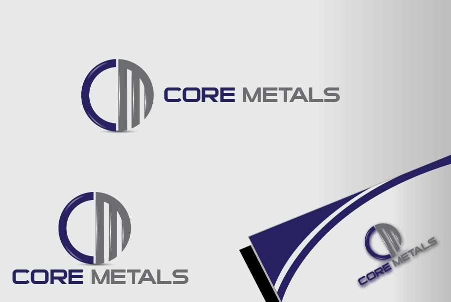 Logo Design by Private User - Entry No. 1 in the Logo Design Contest New Logo Design for Core Metals Inc.