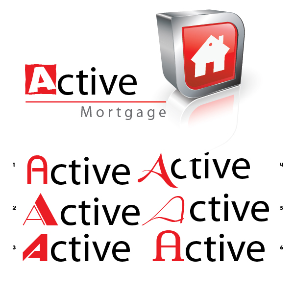 Logo Design by aesthetic-art - Entry No. 50 in the Logo Design Contest Active Mortgage Corp..