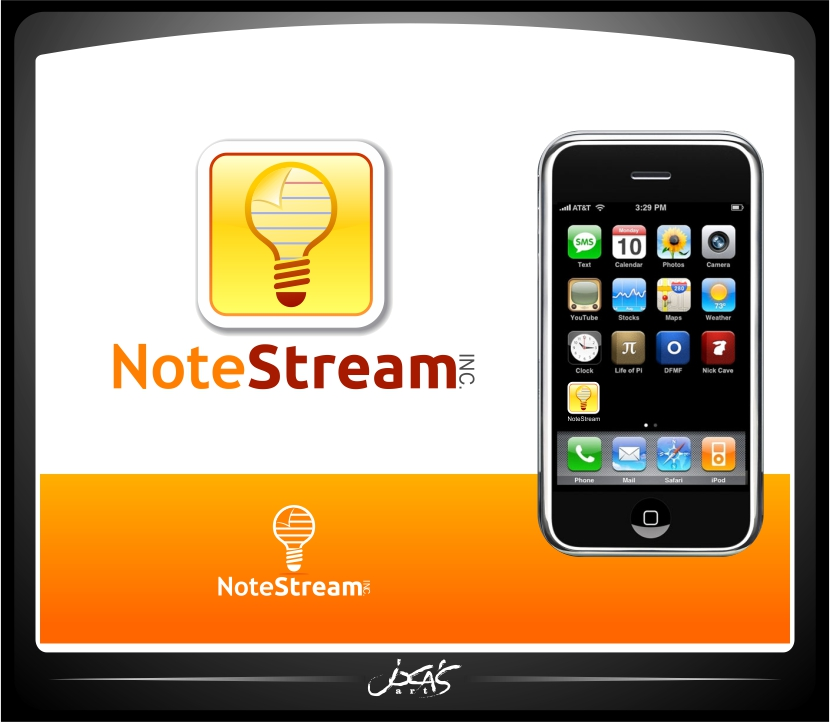 Logo Design by joca - Entry No. 157 in the Logo Design Contest Imaginative Logo Design for NoteStream.