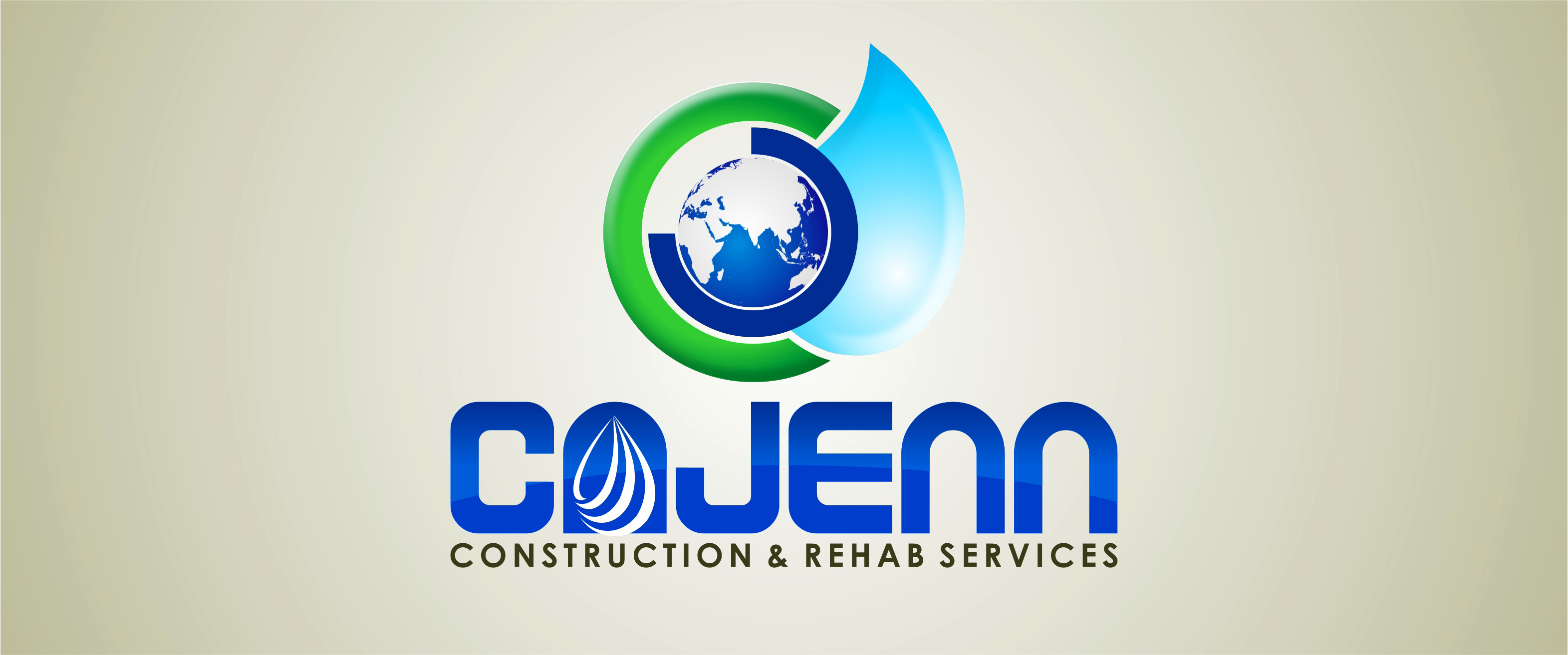 Logo Design by Private User - Entry No. 232 in the Logo Design Contest New Logo Design for CaJenn Construction & Rehab Services.