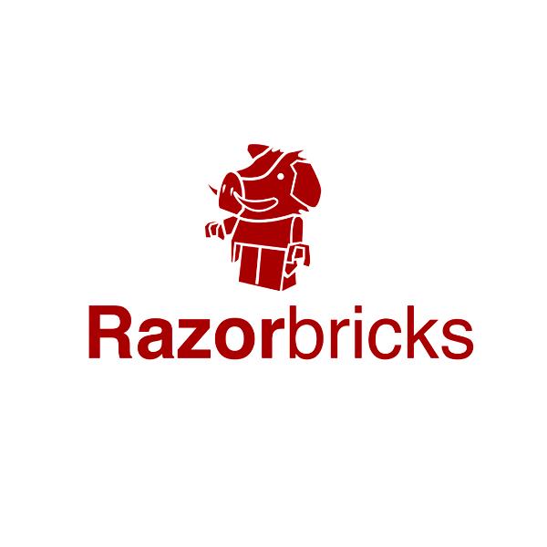Logo Design by Think - Entry No. 18 in the Logo Design Contest Unique Logo Design Wanted for razorbricks.com.