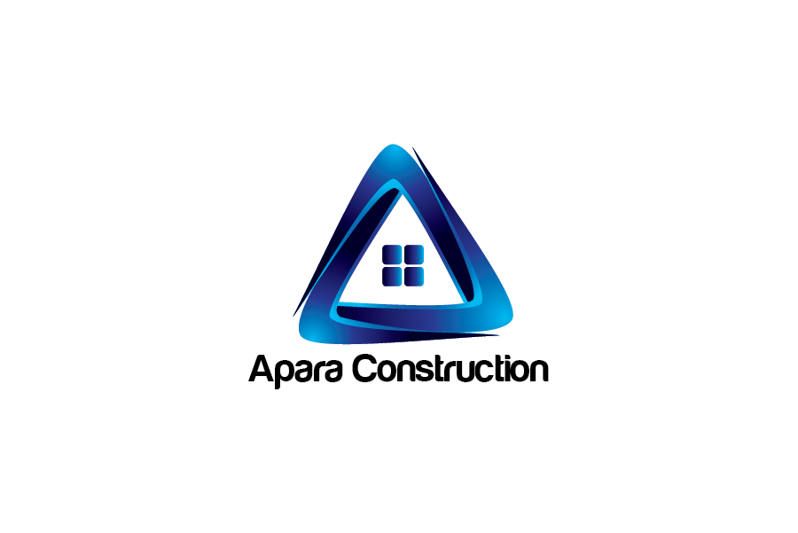 Logo Design by Private User - Entry No. 1 in the Logo Design Contest Apara Construction Logo Design.