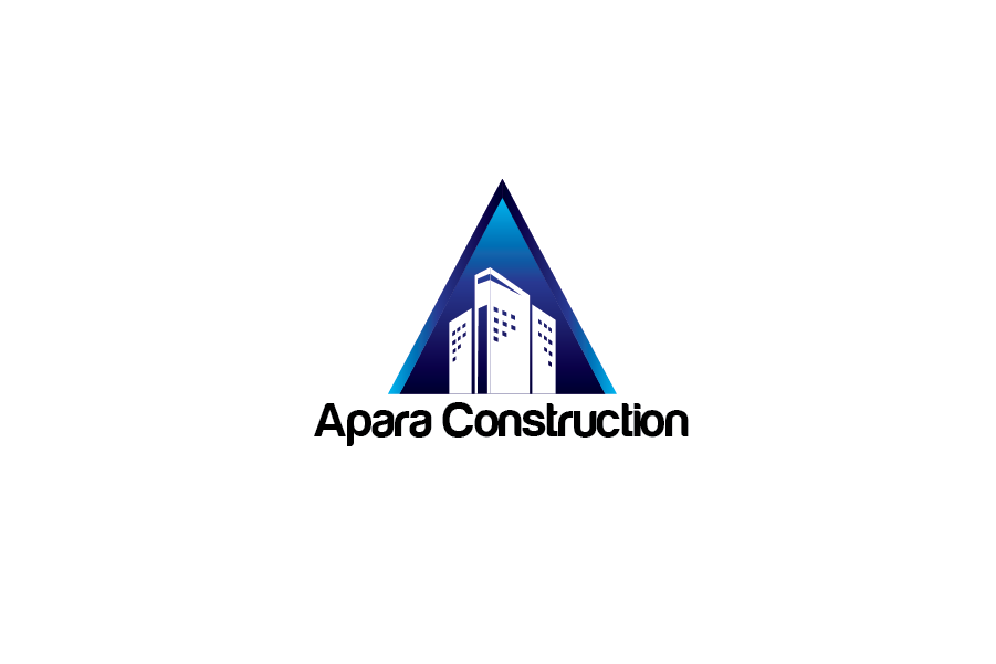 Logo Design by Private User - Entry No. 2 in the Logo Design Contest Apara Construction Logo Design.