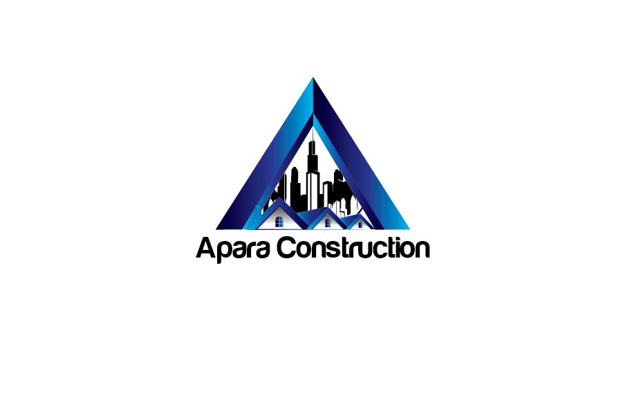 Logo Design by Private User - Entry No. 3 in the Logo Design Contest Apara Construction Logo Design.