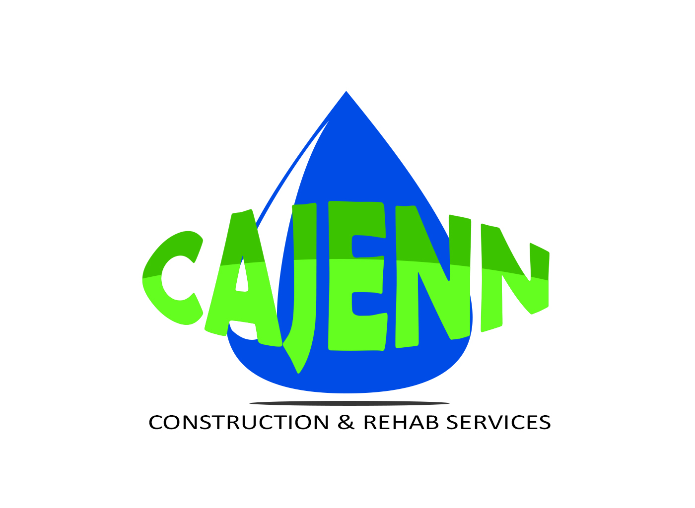 Logo Design by drunkman - Entry No. 240 in the Logo Design Contest New Logo Design for CaJenn Construction & Rehab Services.