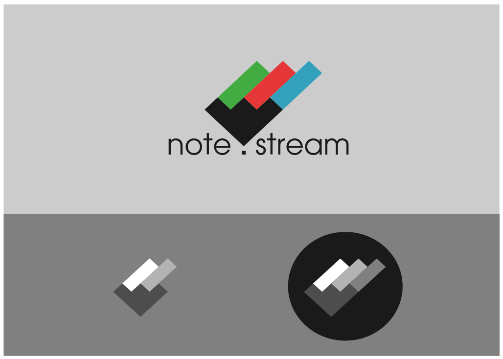 Logo Design by JaroslavProcka - Entry No. 166 in the Logo Design Contest Imaginative Logo Design for NoteStream.