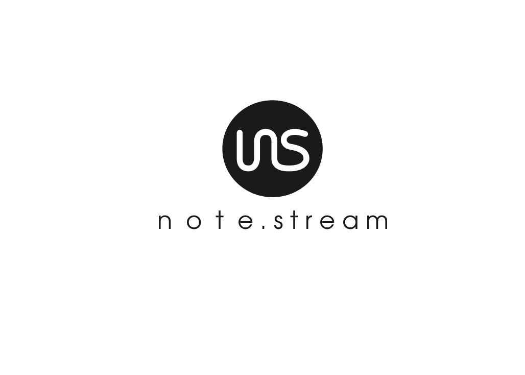 Logo Design by JaroslavProcka - Entry No. 167 in the Logo Design Contest Imaginative Logo Design for NoteStream.