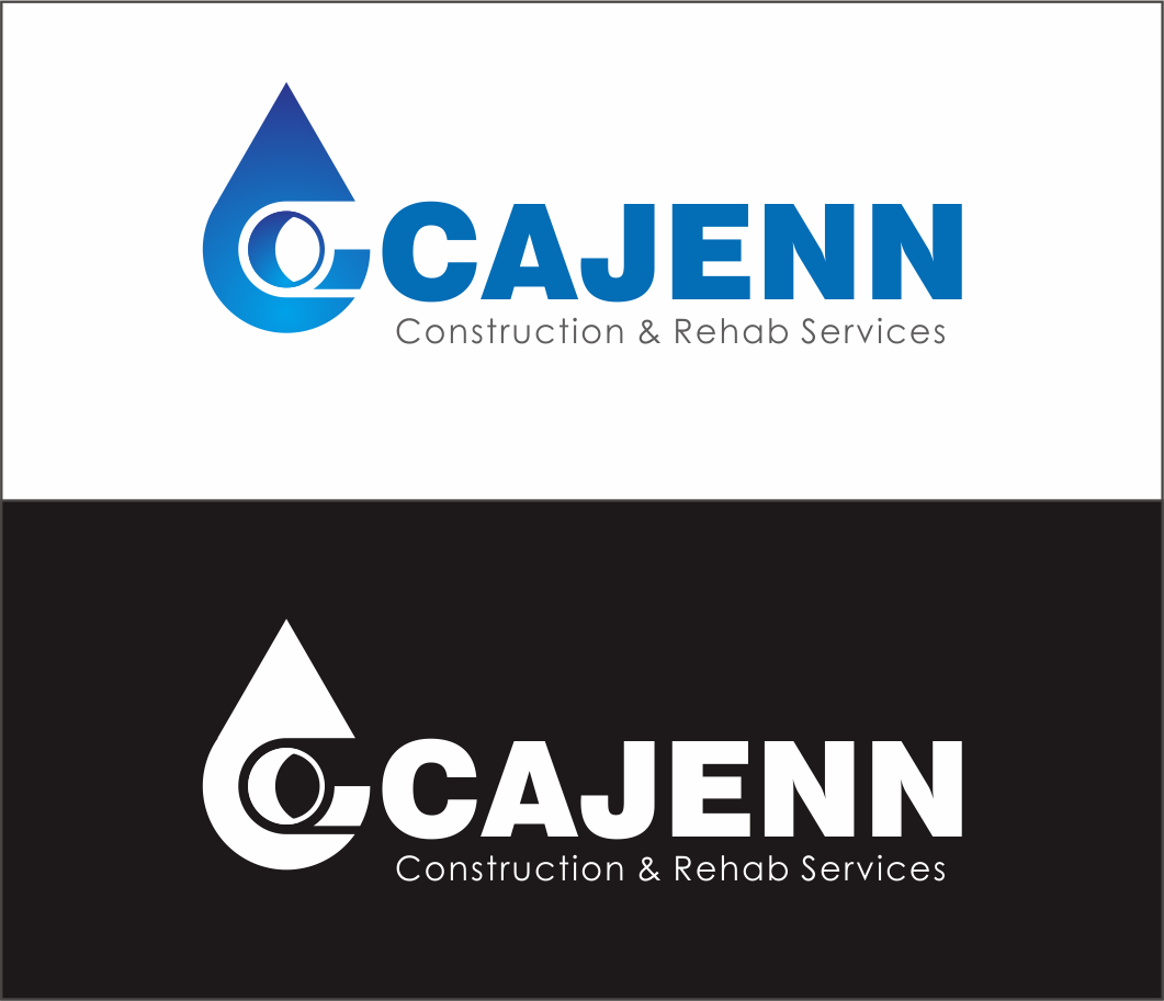 Logo Design by Armada Jamaluddin - Entry No. 248 in the Logo Design Contest New Logo Design for CaJenn Construction & Rehab Services.