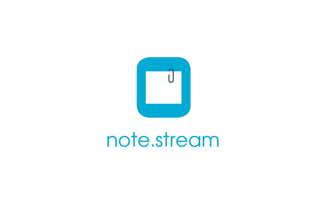 Logo Design by JaroslavProcka - Entry No. 177 in the Logo Design Contest Imaginative Logo Design for NoteStream.