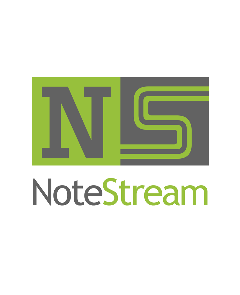 Logo Design by Robert Turla - Entry No. 181 in the Logo Design Contest Imaginative Logo Design for NoteStream.