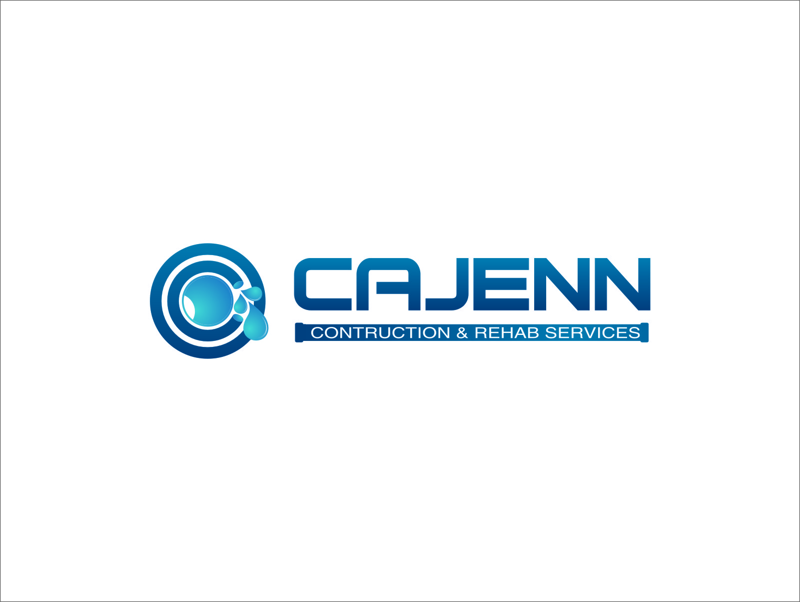 Logo Design by Ngepet_art - Entry No. 258 in the Logo Design Contest New Logo Design for CaJenn Construction & Rehab Services.