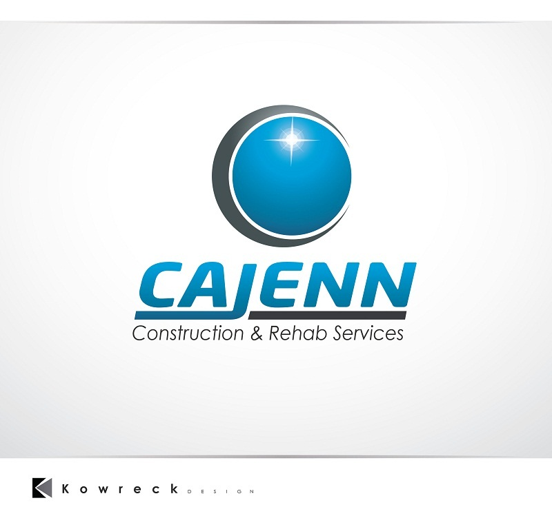 Logo Design by kowreck - Entry No. 260 in the Logo Design Contest New Logo Design for CaJenn Construction & Rehab Services.