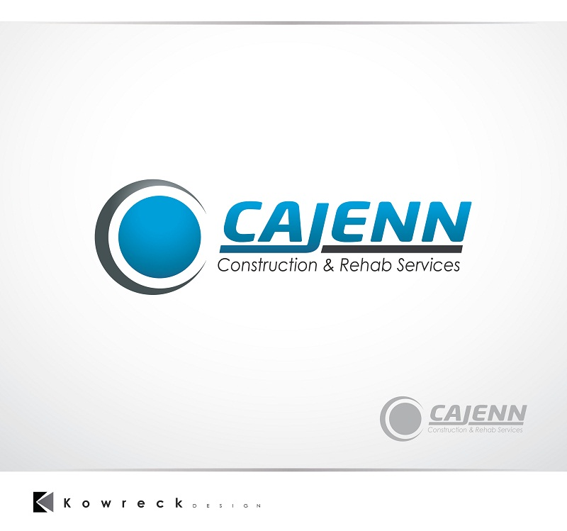 Logo Design by kowreck - Entry No. 261 in the Logo Design Contest New Logo Design for CaJenn Construction & Rehab Services.