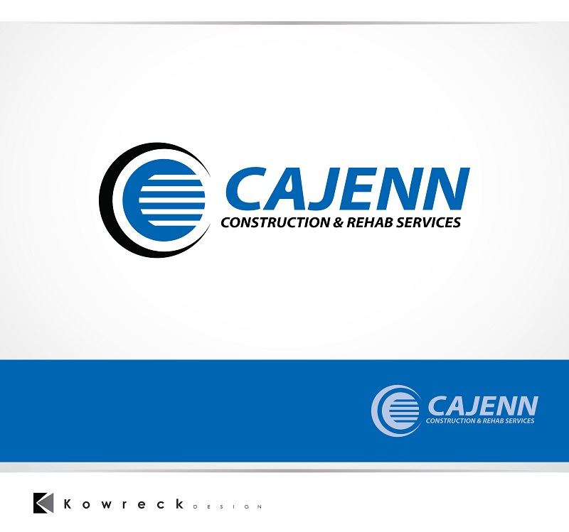 Logo Design by kowreck - Entry No. 262 in the Logo Design Contest New Logo Design for CaJenn Construction & Rehab Services.