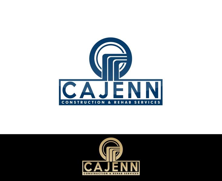 Logo Design by Juan_Kata - Entry No. 263 in the Logo Design Contest New Logo Design for CaJenn Construction & Rehab Services.