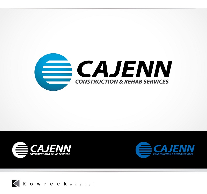 Logo Design by kowreck - Entry No. 266 in the Logo Design Contest New Logo Design for CaJenn Construction & Rehab Services.