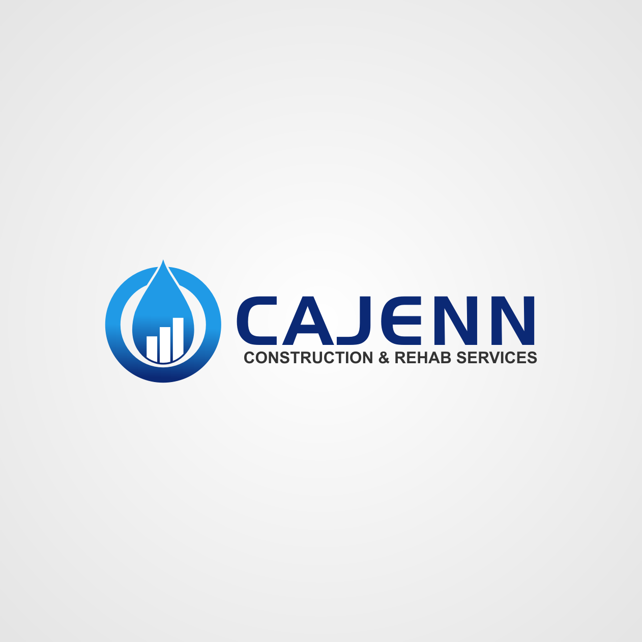 Logo Design by rifatz - Entry No. 269 in the Logo Design Contest New Logo Design for CaJenn Construction & Rehab Services.