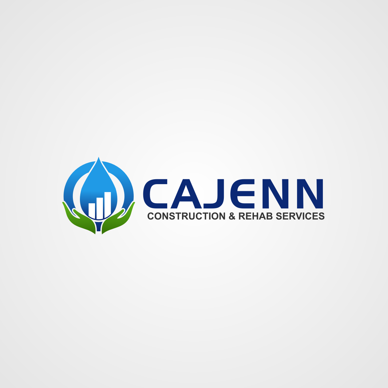 Logo Design by rifatz - Entry No. 270 in the Logo Design Contest New Logo Design for CaJenn Construction & Rehab Services.