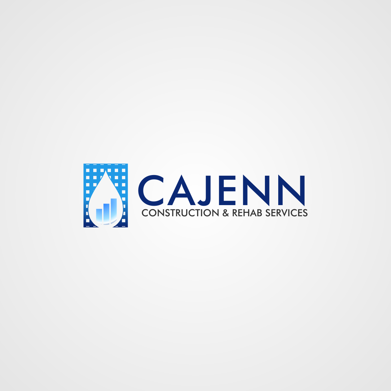 Logo Design by rifatz - Entry No. 271 in the Logo Design Contest New Logo Design for CaJenn Construction & Rehab Services.