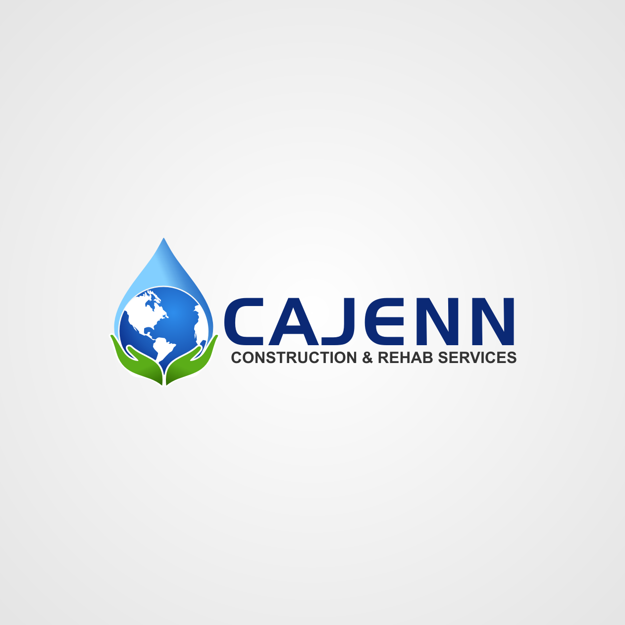Logo Design by rifatz - Entry No. 272 in the Logo Design Contest New Logo Design for CaJenn Construction & Rehab Services.