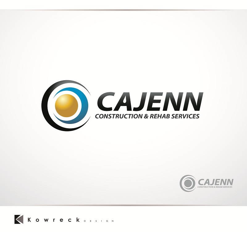 Logo Design by kowreck - Entry No. 273 in the Logo Design Contest New Logo Design for CaJenn Construction & Rehab Services.