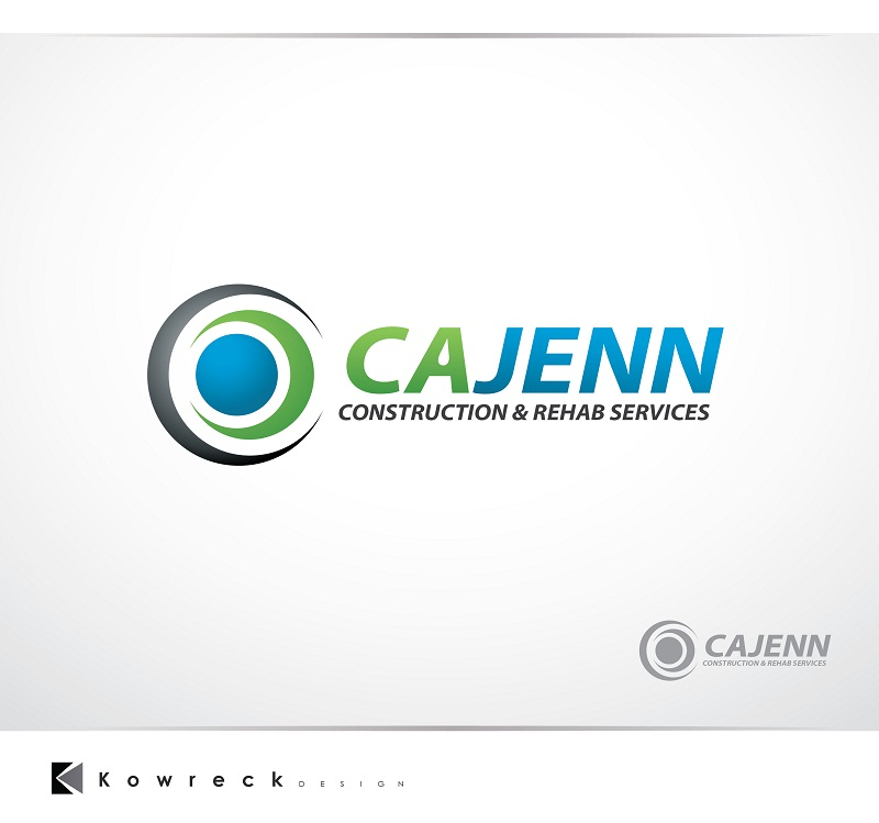 Logo Design by kowreck - Entry No. 274 in the Logo Design Contest New Logo Design for CaJenn Construction & Rehab Services.