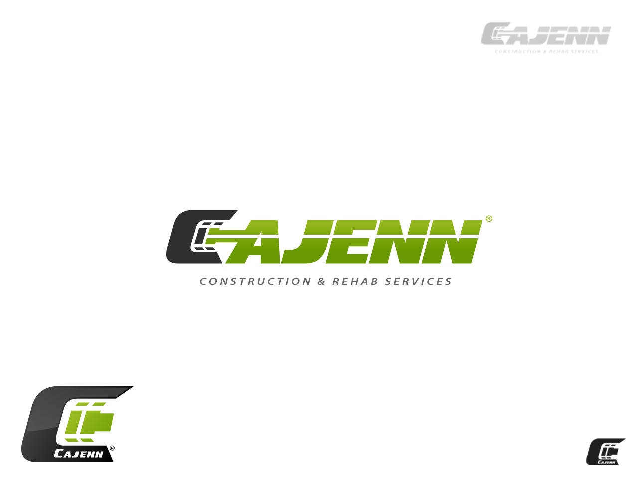 Logo Design by jpbituin - Entry No. 276 in the Logo Design Contest New Logo Design for CaJenn Construction & Rehab Services.