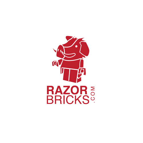 Logo Design by Think - Entry No. 24 in the Logo Design Contest Unique Logo Design Wanted for razorbricks.com.