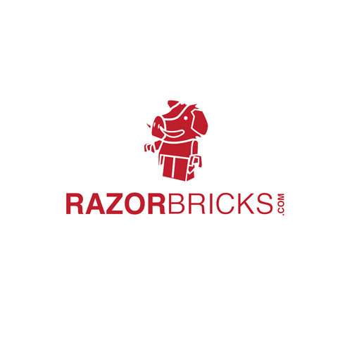 Logo Design by Think - Entry No. 25 in the Logo Design Contest Unique Logo Design Wanted for razorbricks.com.