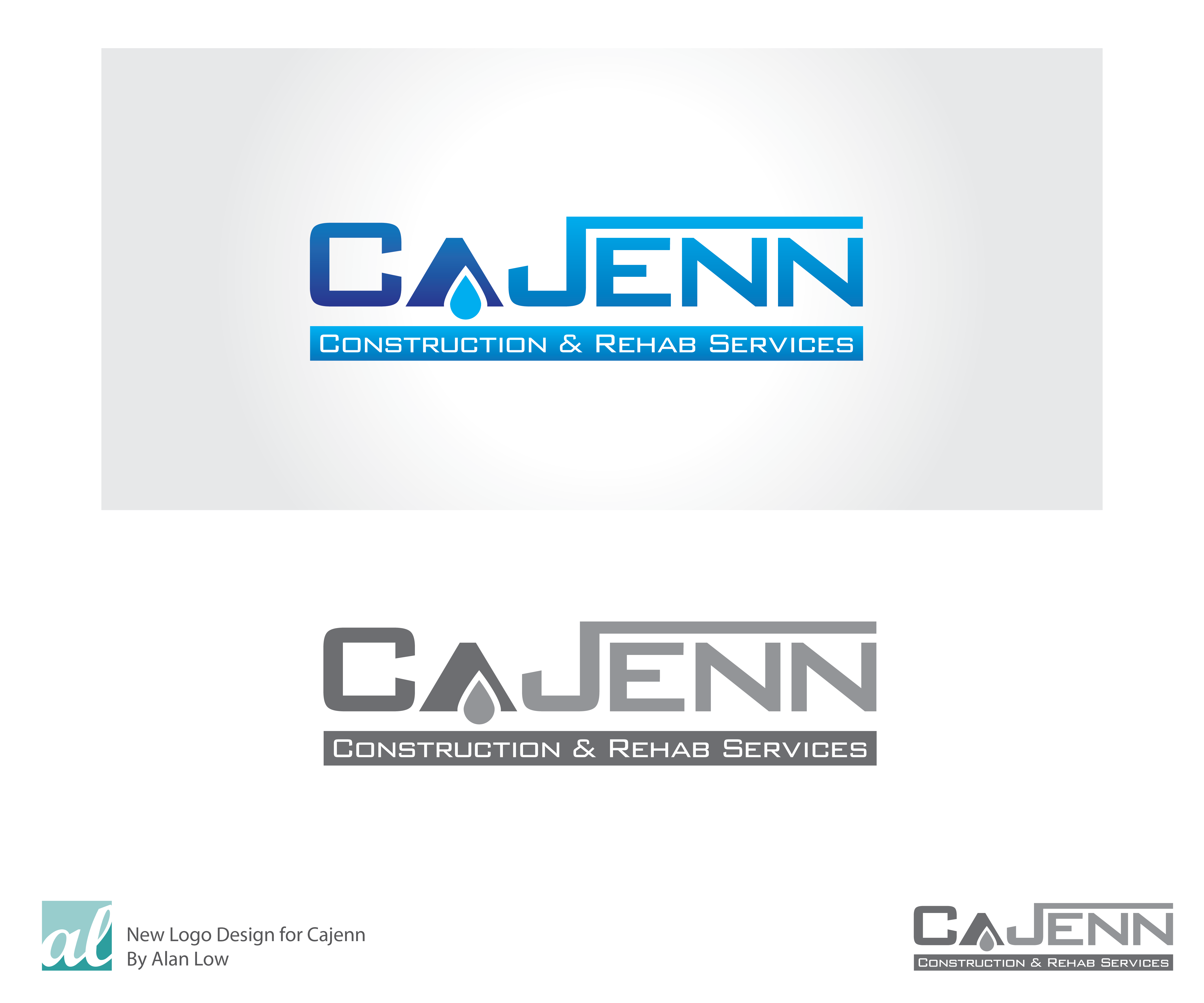 Logo Design by Alan Low - Entry No. 280 in the Logo Design Contest New Logo Design for CaJenn Construction & Rehab Services.