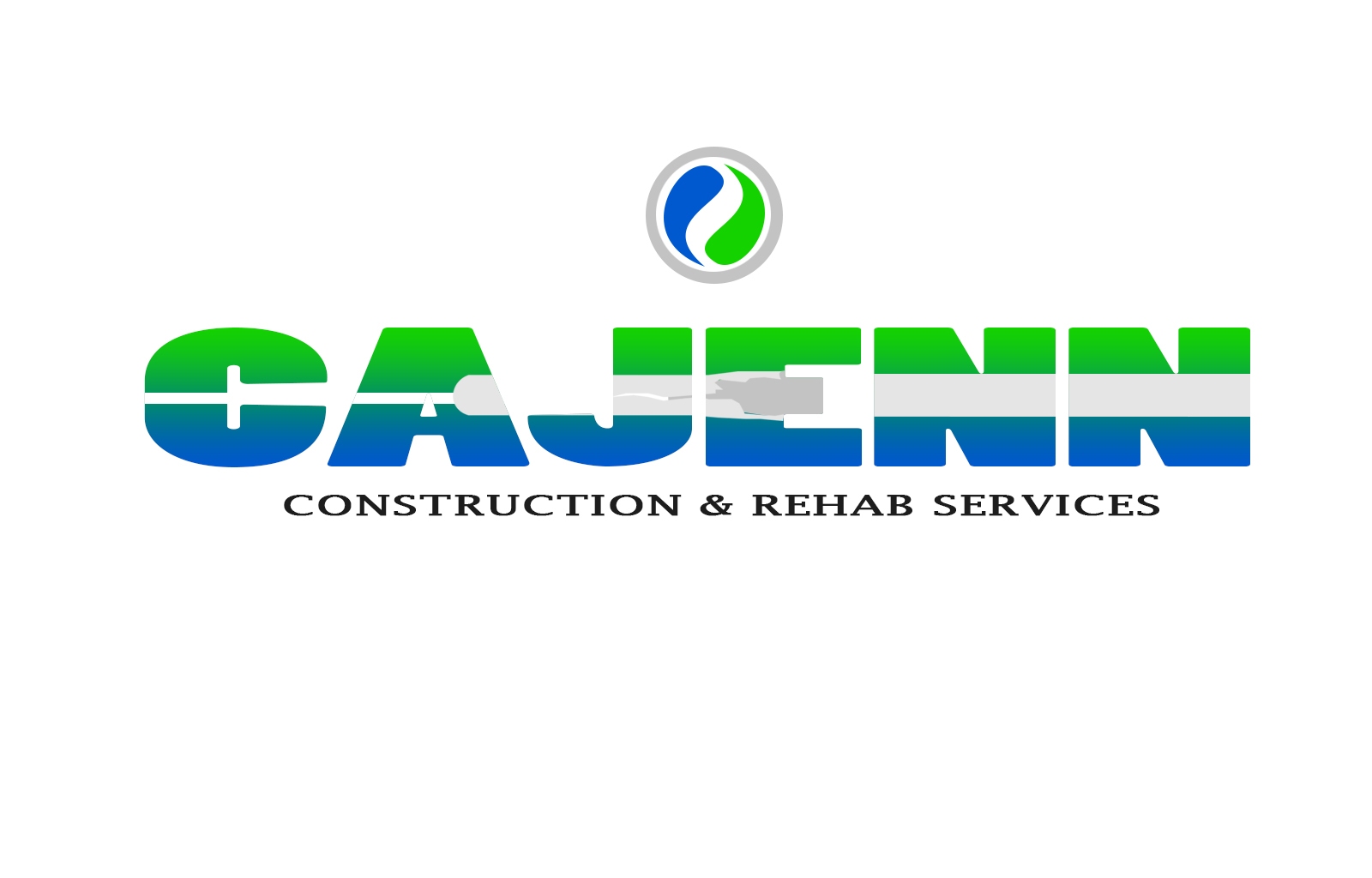 Logo Design by drunkman - Entry No. 283 in the Logo Design Contest New Logo Design for CaJenn Construction & Rehab Services.
