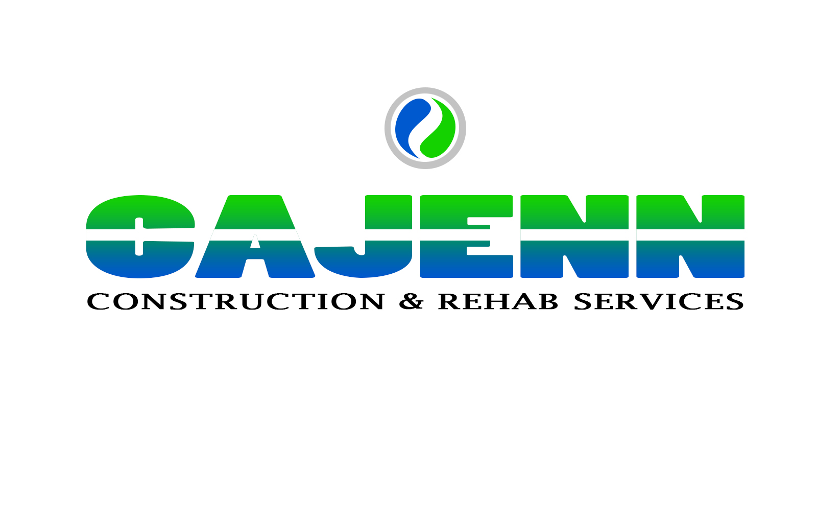 Logo Design by drunkman - Entry No. 284 in the Logo Design Contest New Logo Design for CaJenn Construction & Rehab Services.