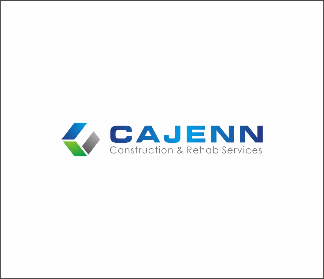 Logo Design by Armada Jamaluddin - Entry No. 289 in the Logo Design Contest New Logo Design for CaJenn Construction & Rehab Services.