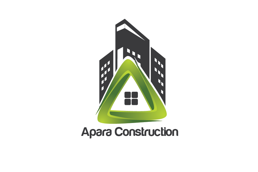 Logo Design by Private User - Entry No. 5 in the Logo Design Contest Apara Construction Logo Design.