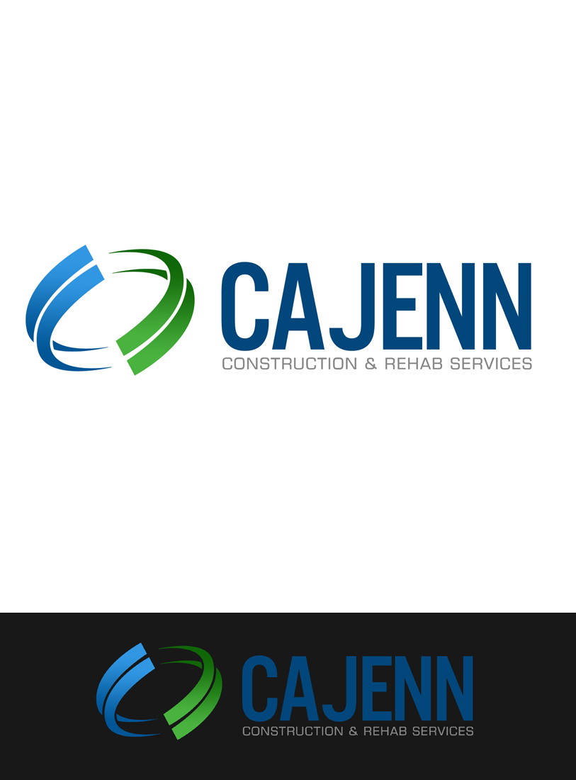 Logo Design by Private User - Entry No. 291 in the Logo Design Contest New Logo Design for CaJenn Construction & Rehab Services.