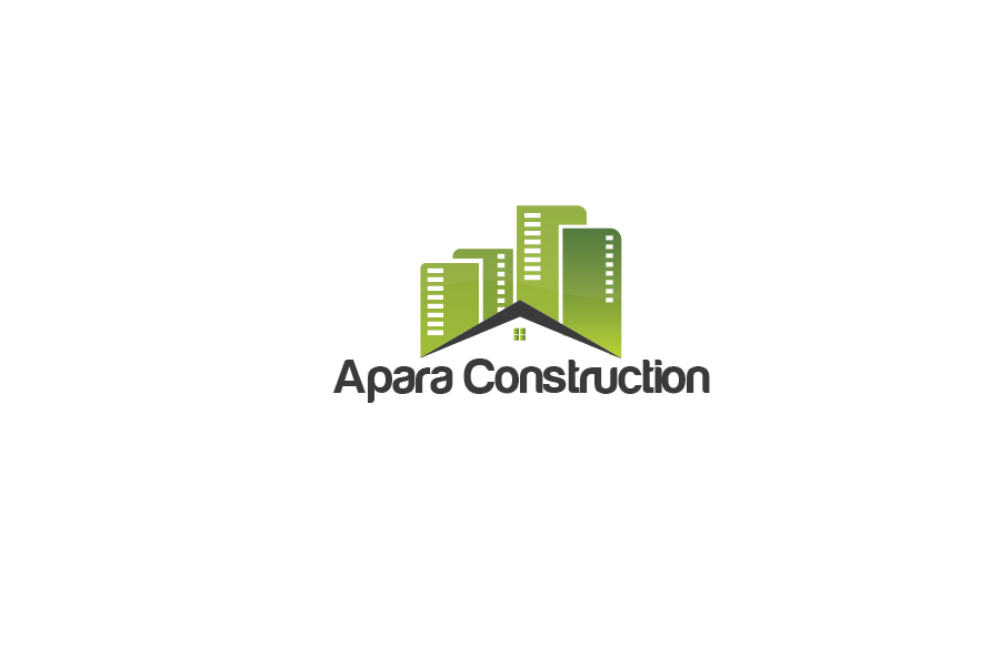 Logo Design by Private User - Entry No. 6 in the Logo Design Contest Apara Construction Logo Design.
