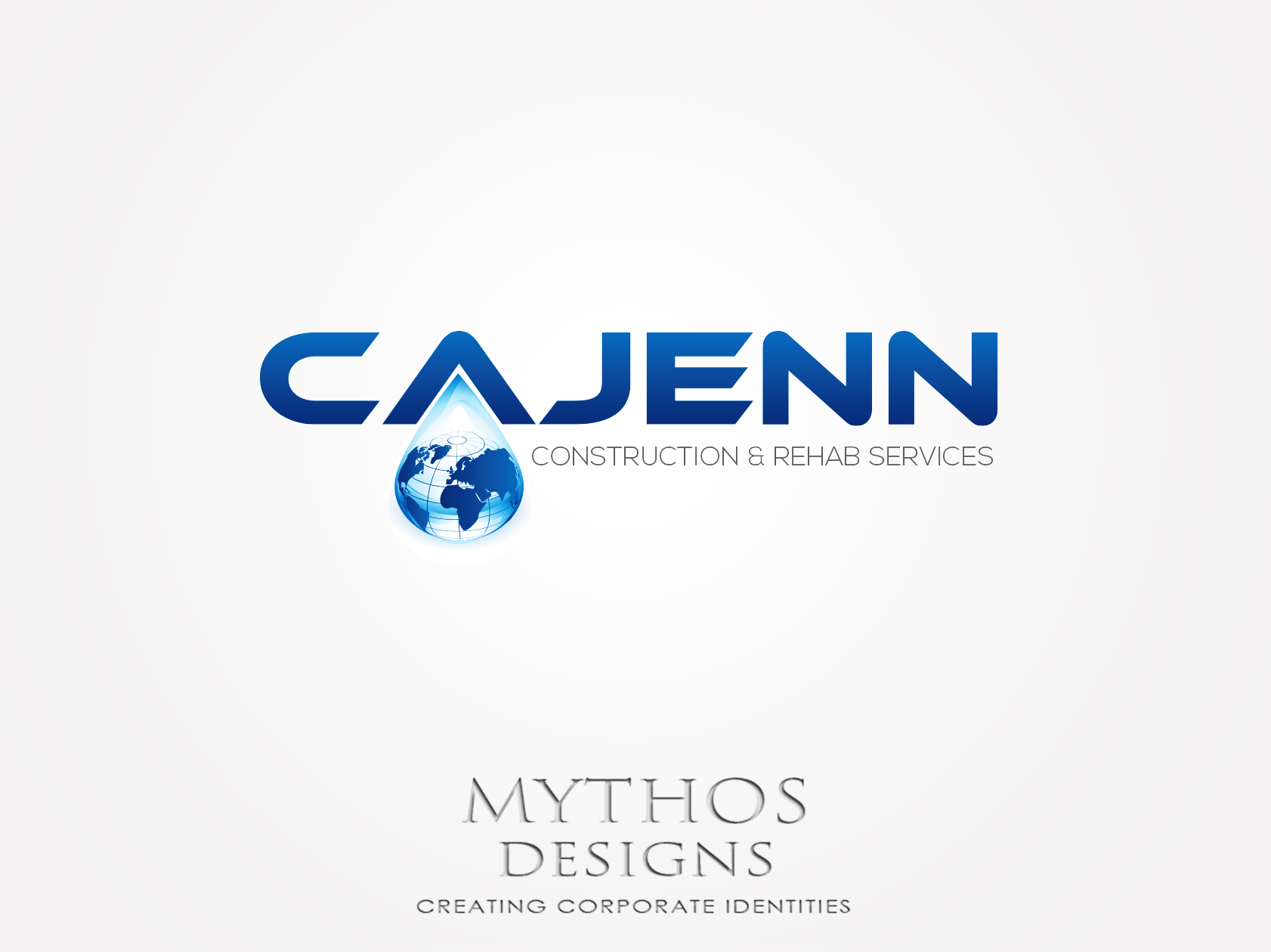 Logo Design by Mythos Designs - Entry No. 295 in the Logo Design Contest New Logo Design for CaJenn Construction & Rehab Services.