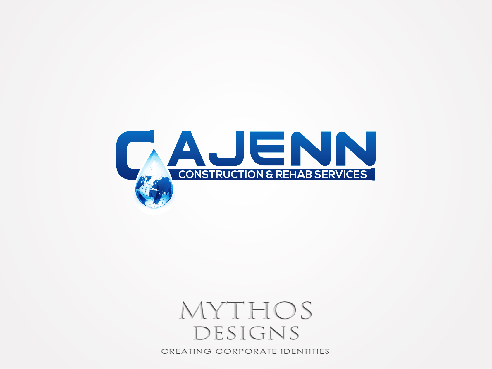 Logo Design by Mythos Designs - Entry No. 298 in the Logo Design Contest New Logo Design for CaJenn Construction & Rehab Services.
