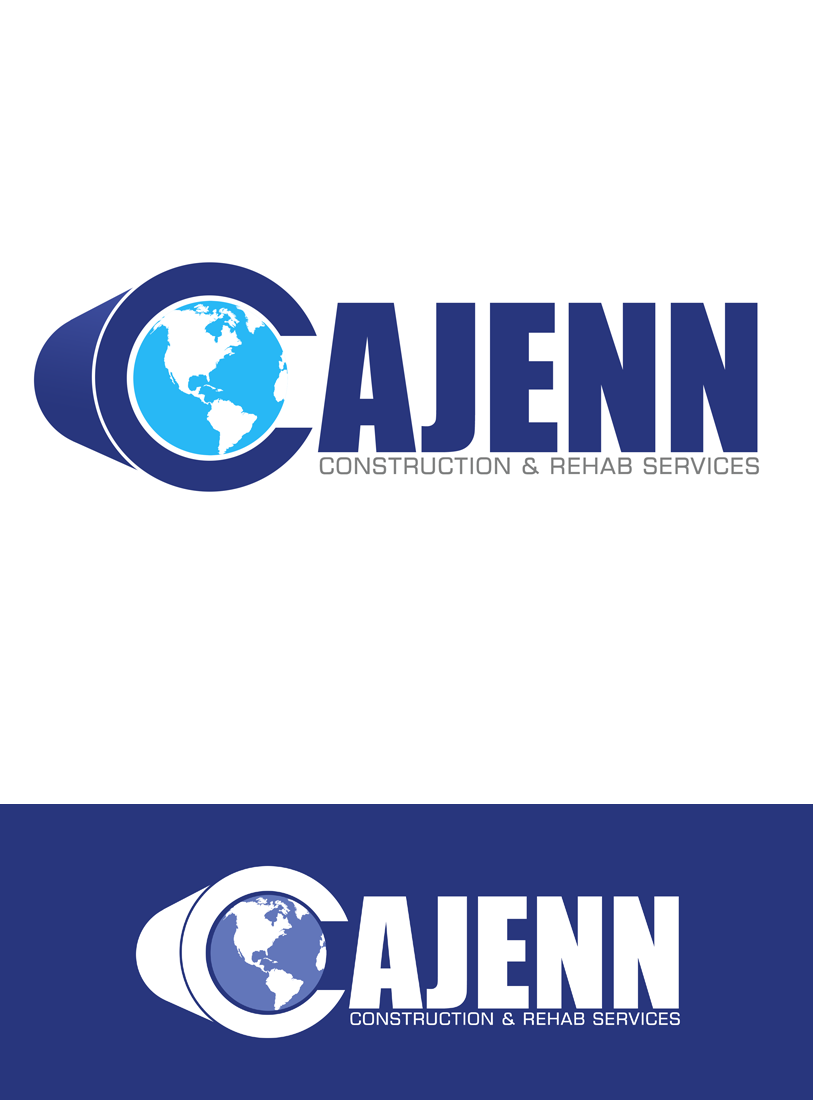 Logo Design by Private User - Entry No. 301 in the Logo Design Contest New Logo Design for CaJenn Construction & Rehab Services.