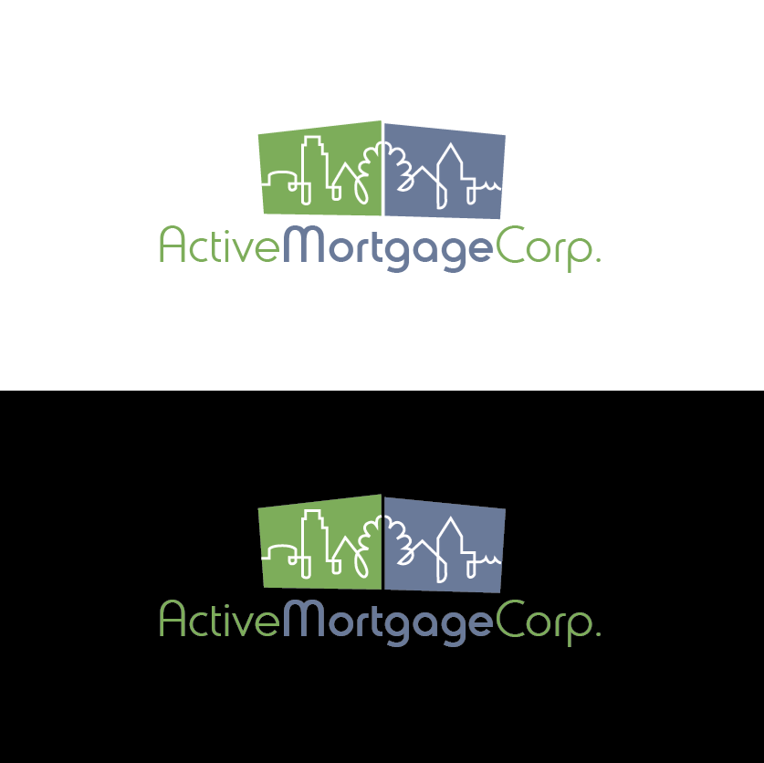 Logo Design by limix - Entry No. 59 in the Logo Design Contest Active Mortgage Corp..