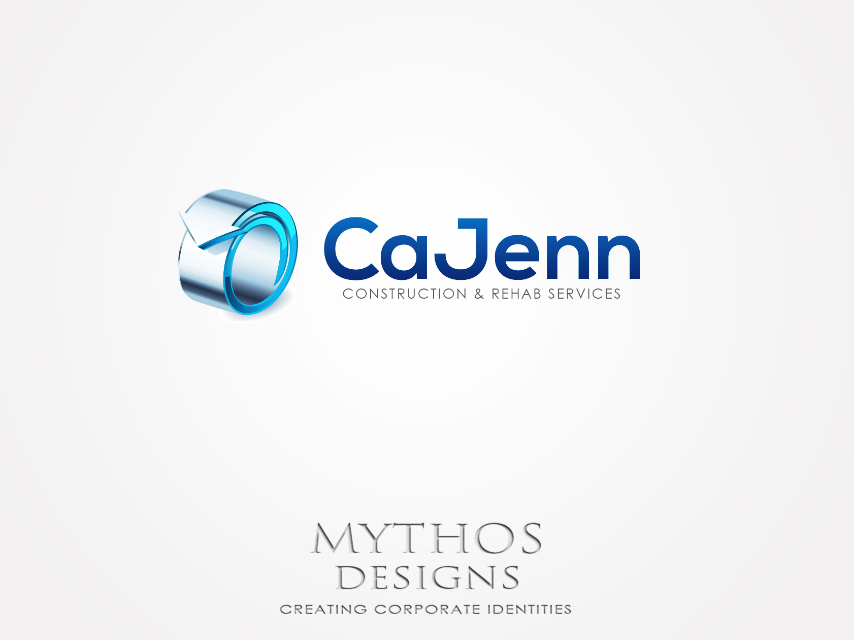 Logo Design by Mythos Designs - Entry No. 304 in the Logo Design Contest New Logo Design for CaJenn Construction & Rehab Services.
