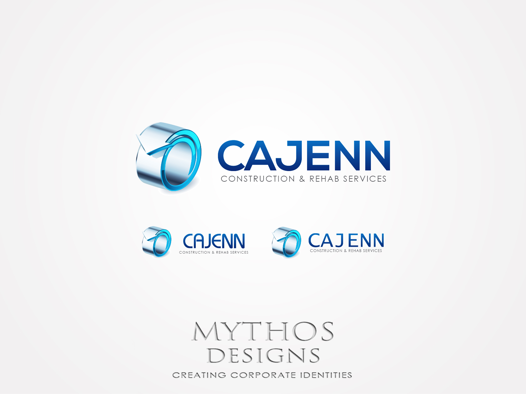 Logo Design by Mythos Designs - Entry No. 305 in the Logo Design Contest New Logo Design for CaJenn Construction & Rehab Services.