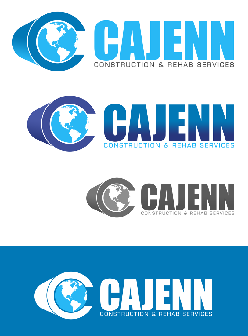 Logo Design by Robert Turla - Entry No. 306 in the Logo Design Contest New Logo Design for CaJenn Construction & Rehab Services.