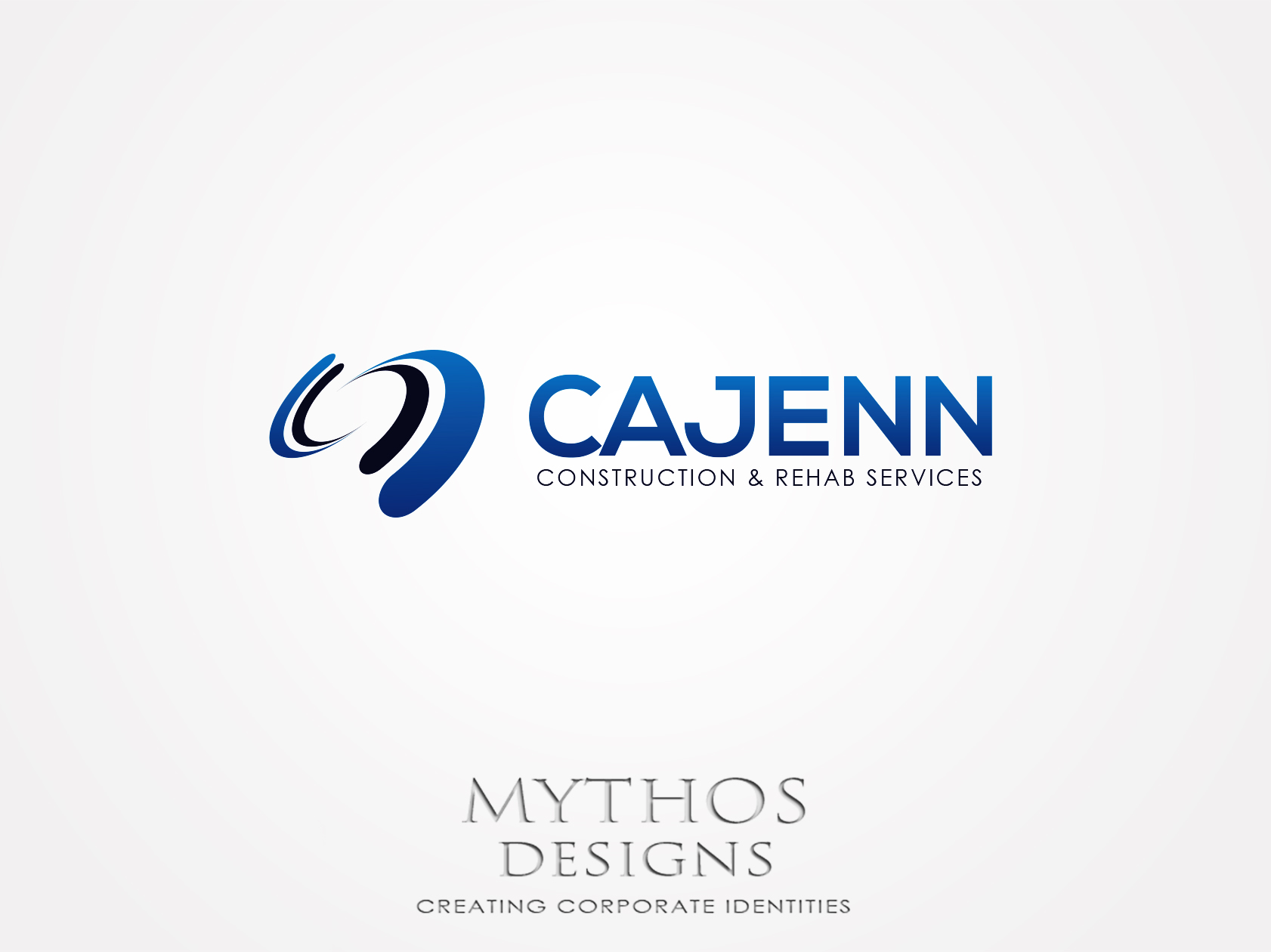 Logo Design by Mythos Designs - Entry No. 307 in the Logo Design Contest New Logo Design for CaJenn Construction & Rehab Services.