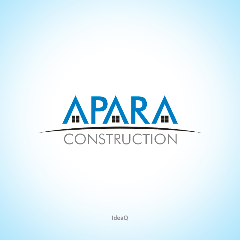 Logo Design by Private User - Entry No. 9 in the Logo Design Contest Apara Construction Logo Design.