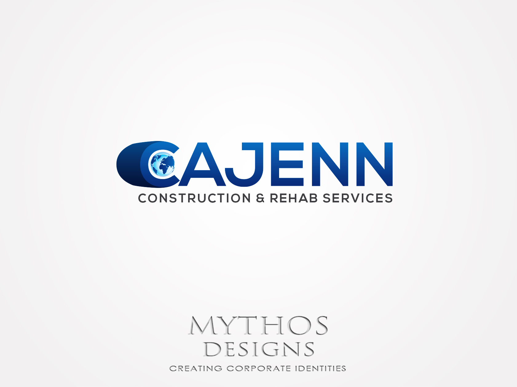 Logo Design by Mythos Designs - Entry No. 308 in the Logo Design Contest New Logo Design for CaJenn Construction & Rehab Services.