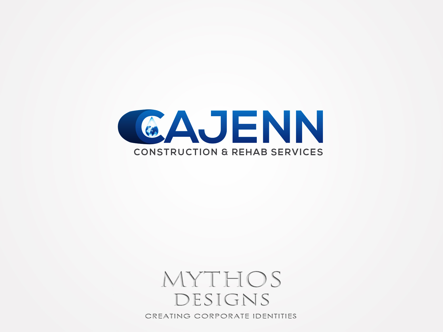 Logo Design by Mythos Designs - Entry No. 309 in the Logo Design Contest New Logo Design for CaJenn Construction & Rehab Services.